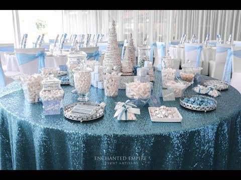 Winter Wonderland Corporate Dinner, styled by Enchanted Empire Event Artisans