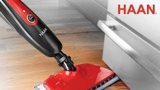 haan steam cleaner demonstration   live from the 2014 iha trade show