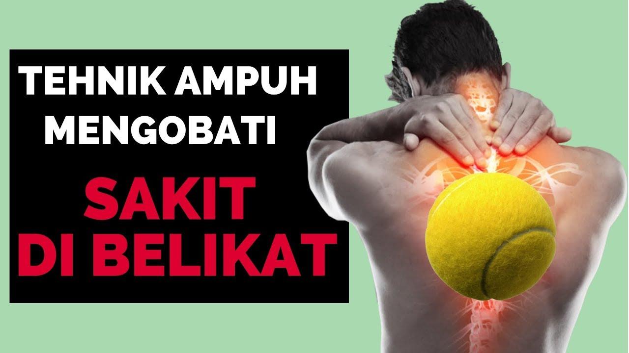 Sakit Di Belikat Sembuh Dengan Bola Tennis Youtube