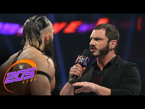 Austin Aries delivers a
