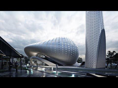 Lumion 10 Animation - Mosque Kuala Lumpur Design Proposal