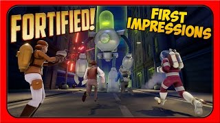 Fortified Gameplay ➤ First Impressions, Campaign, and Review! [Let