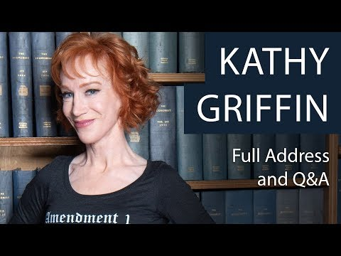Kathy Griffin | Full Address and Q&A | Oxford Union