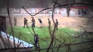 Тренировка боевиков в Херсонской области
