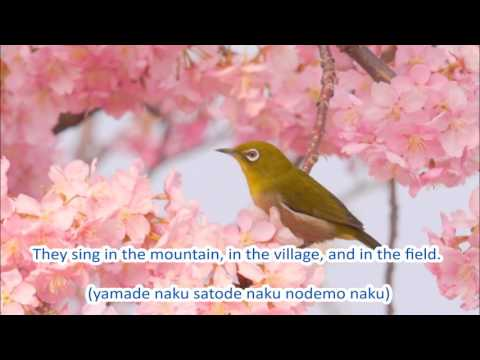 Japanese Folk Song #65:  Spring Has Come (春が来た / Haruga kita)