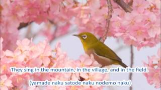 This song celebrates the arrival of spring everywhere. Composer: Te...