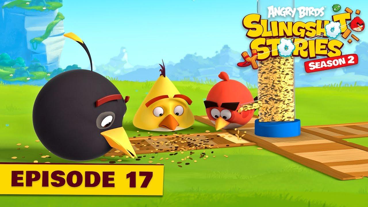 Angry Birds Slingshot Stories S2   Bird Feeder Ep.17