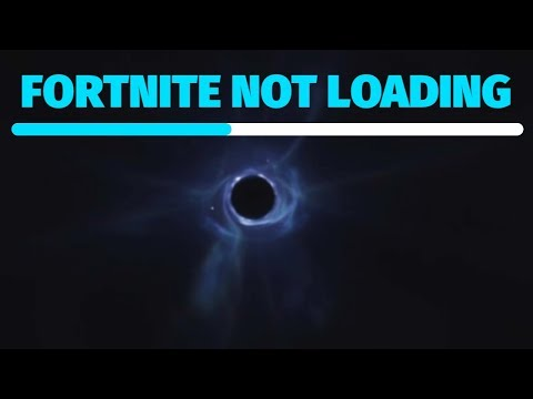 Fortnite Not Loading: Servers Down - Stuck On Black Screen Circle In Middle | The End Of Season 10