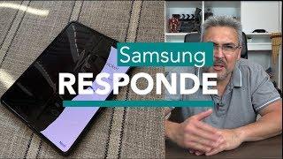 Samsung responde  pero no al 100%