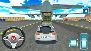 Airplane Pilot Car Transporter Simulator 2021-Android 게임 플레이