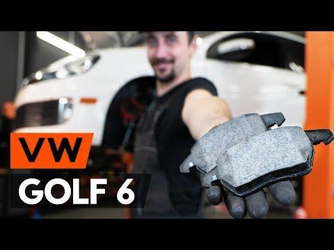 Как заменить передние тормозные колодки на VW GOLF 6 (5K1) [ВИДЕОУРОК AUTODOC]