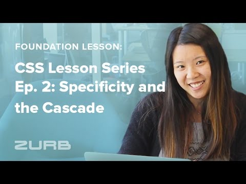 Foundation CSS Tutorial Series | Ep. 2: Specificity and the Cascade thumbnail