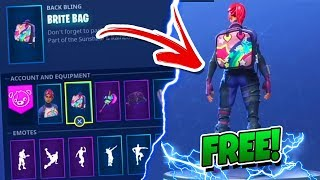 "How To Unlock *NEW* ""Brite Bag"" HIDDEN SECRET CHALLENGE! in Fortnite Battle Royale!"