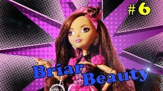 "Stop Motion и обзор куклы Briar Beauty из серии Ever After High от канала ""Monster High Reviews"""