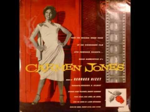 Carmen Jones Soundtrack (1954) : Whizzing Along De Track