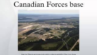 Canadian Forces base