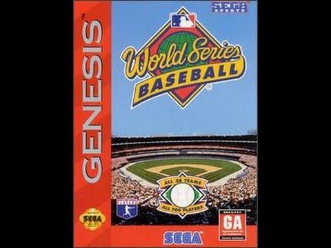 World Series Baseball (Sega Genesis)