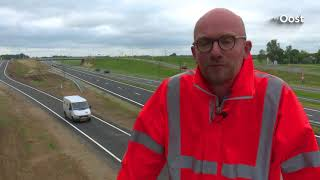 Aanleg verbrede N35 tussen Zwolle en Wijthmen ruim 8 miljoen goedkoper dan begroot