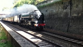 60163 Tornado Through Newton St Loe - 07/09/13