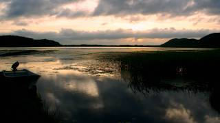 達古武オートキャンプ場からの夕景 釧路湿原 by shiotsuki acercreation YouTube