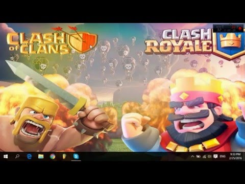 Como Jugar Clash of Clans y Clash Royale En pc Sin BlueStacks | Mega | Junio 2017 | Nox