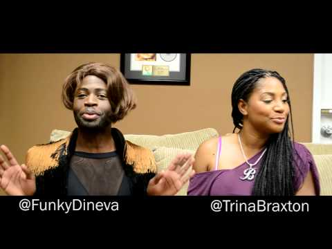 My Hair Is Layed Like Trina Braxton (Trina Braxton Interview)