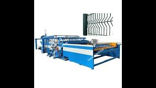 3-6mm Galvanized Wire Mesh Panel Welding Machine