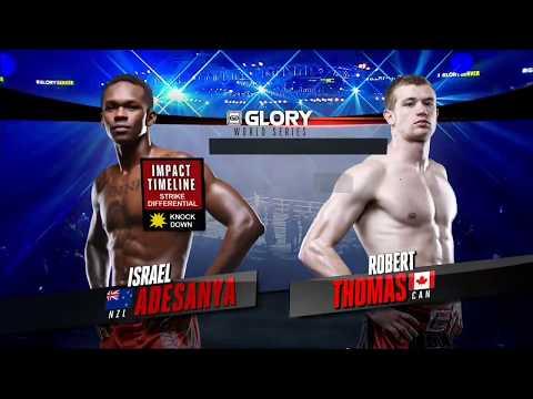 GLORY 34 Denver: Israel Adesanya vs.  Robert Thomas (Tournament Semi-Finals)