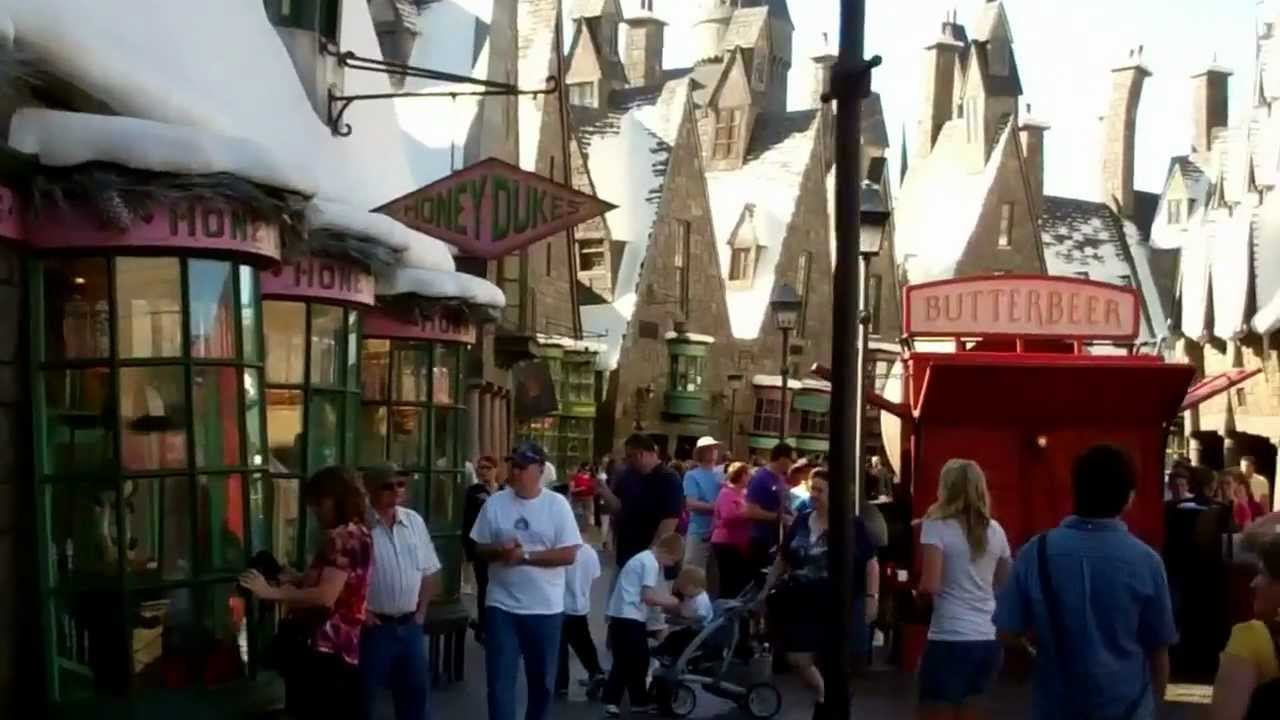 The Wizarding World Of Harry Potter Theme Park Universal