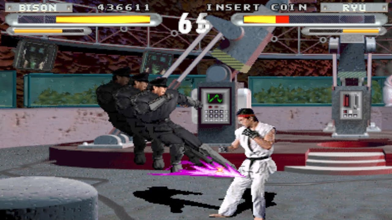 Street Fighter The Movie Arcade Play As S Bison With Fault
