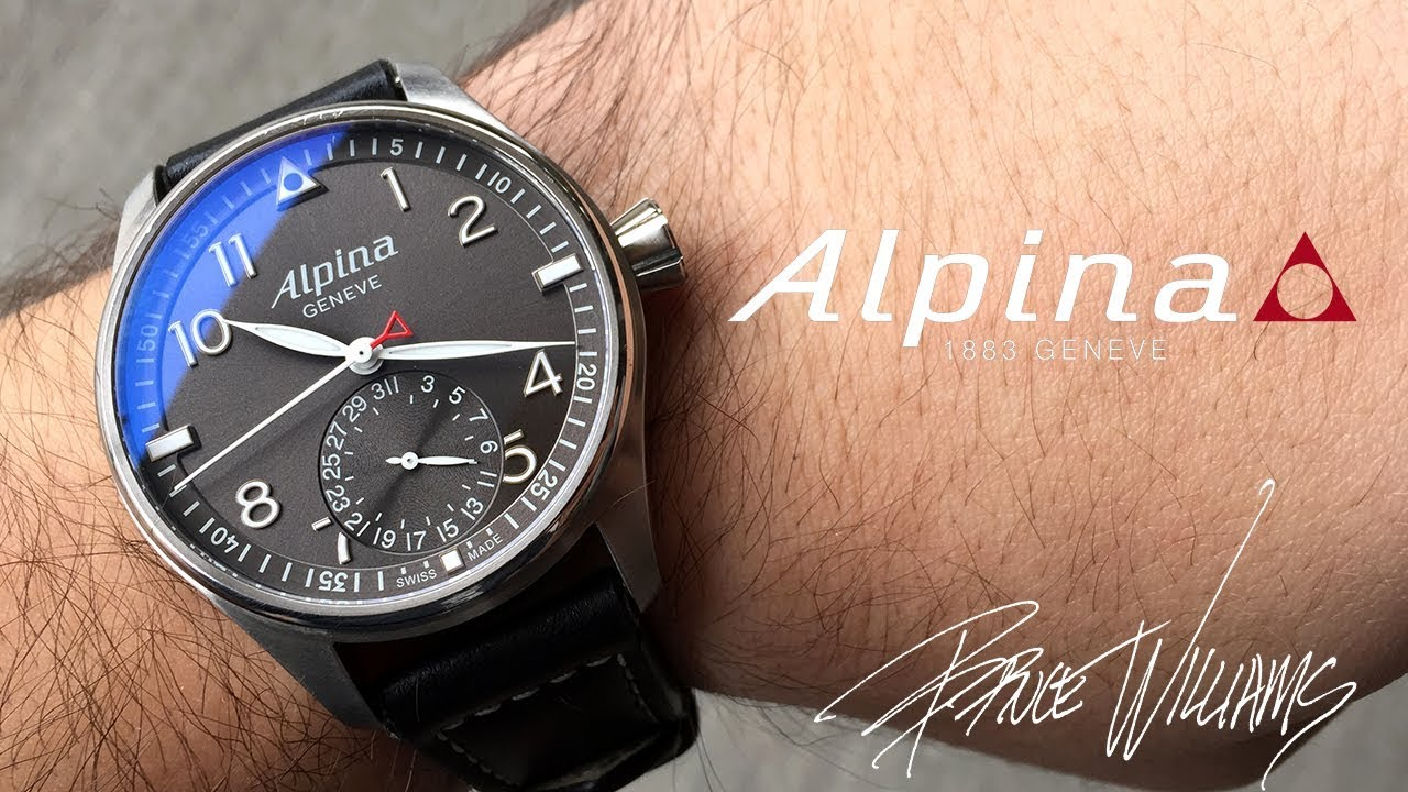 Alpina Startimer Pilot Manufacture Very Cool Pilots Watch YouTube - Alpina startimer