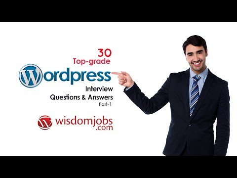 WordPress Interview Questions And Answers 2019 Part-1 | WordPress | Wisdom Jobs