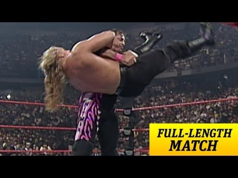 FULL-LENGTH MATCH - Raw - Bret Hart vs. Triple H thumbnail