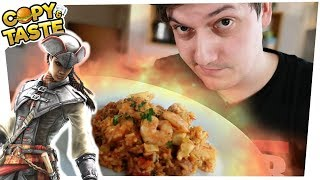 EXTREM leckeres JAMBALAYA! Essen wie in ASSASSINS CREED Liberation! 🥘🍲 Copy & Taste #CaT