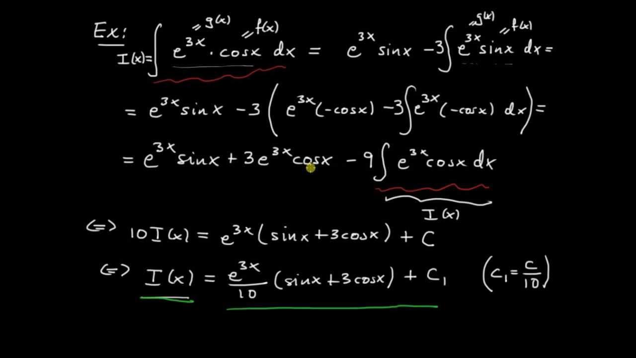 Primitiva funktioner del 6 - upprepad partialintegration