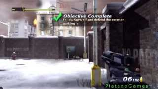 Urban Chaos: Riot Response - First Person Shooter - Great PS2 FPS Mission Gameplay - HD