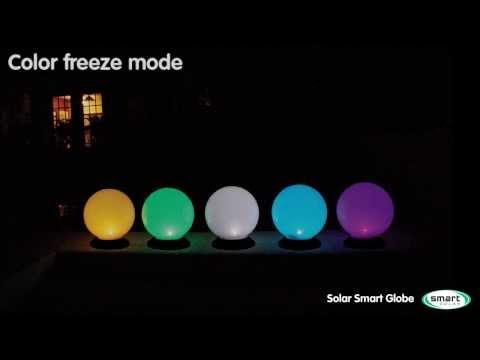 Solar Smart Globe