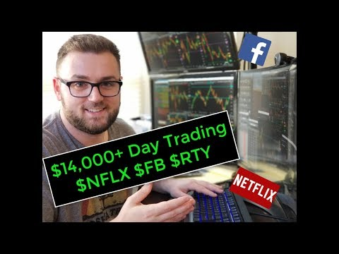 💰 $14,000 PROFIT Day Trading Stock Options (Netflix & Facebook)