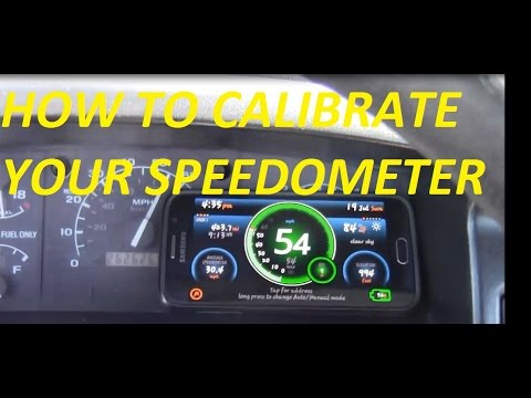 How To Calibrate F150 Speedometer Video