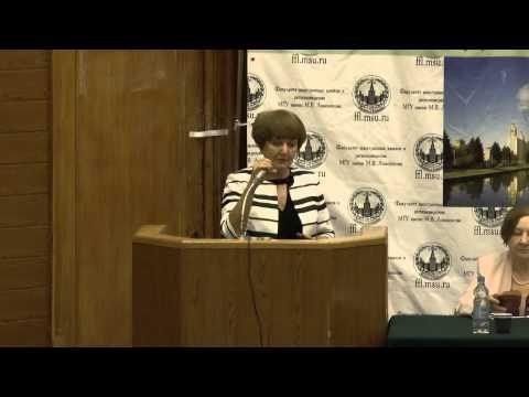 Декан факультета иностранных языков и регионоведения профессор Галина Георгиевна Молчанова