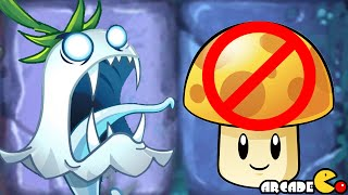 Plants Vs Zombies 2: Dark Ages No Sun Producing Plants Challenge Night 1