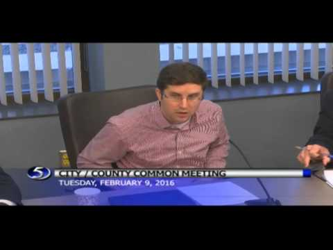 City County Common Meeting February 9, 2016