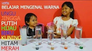 Belajar Mengenal Warna ❤ Learning Knowing Color 💚 Jessica & Jenica 💛