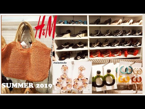 H&M Shoes, Bags and Accessories #Summer2019 #July2019
