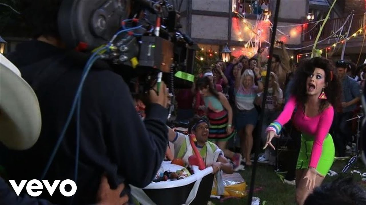 Katy Perry Making Of Last Friday Night T G I F Music Video Youtube