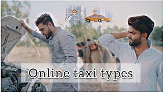 Online taxi types ||okboys||funny video