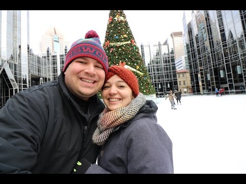 Ice Skating at PPG Pittsburgh