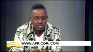 Nigerian musician MI Abaga in South Africa