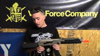 Airsoft GI Uncut - One Minute Review | Lancer Tactical Full Metal Gearbox Tactical AK - 15397