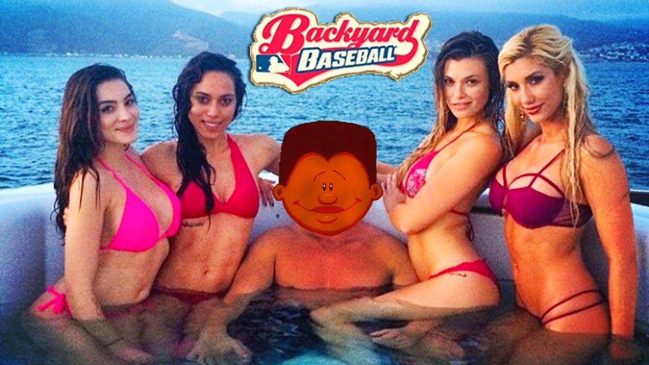 ernie got h0es backyard baseball 2003 funny moments youtube